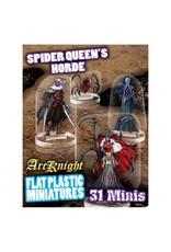 Arcknight Flat Plastic Minis: Spider Queen's Horde
