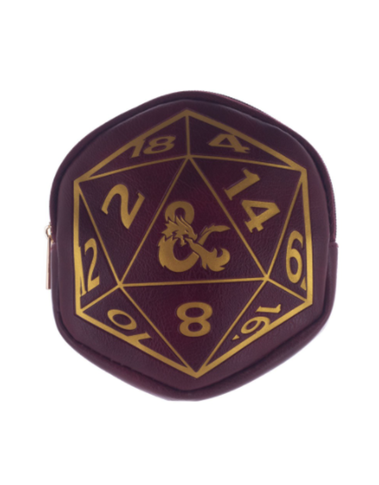 Bioworld Dungeons & Dragons D20 Coin Purse/Dice Pouch