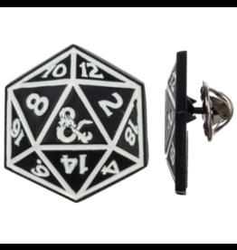Bioworld Dungeons & Dragons D20 Lapel Pin