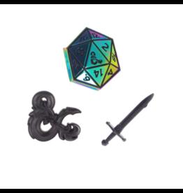 Bioworld Dungeons & Dragons Lapel Pins (3)