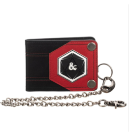 Bioworld Dungeons & Dragons Wallet with Chain