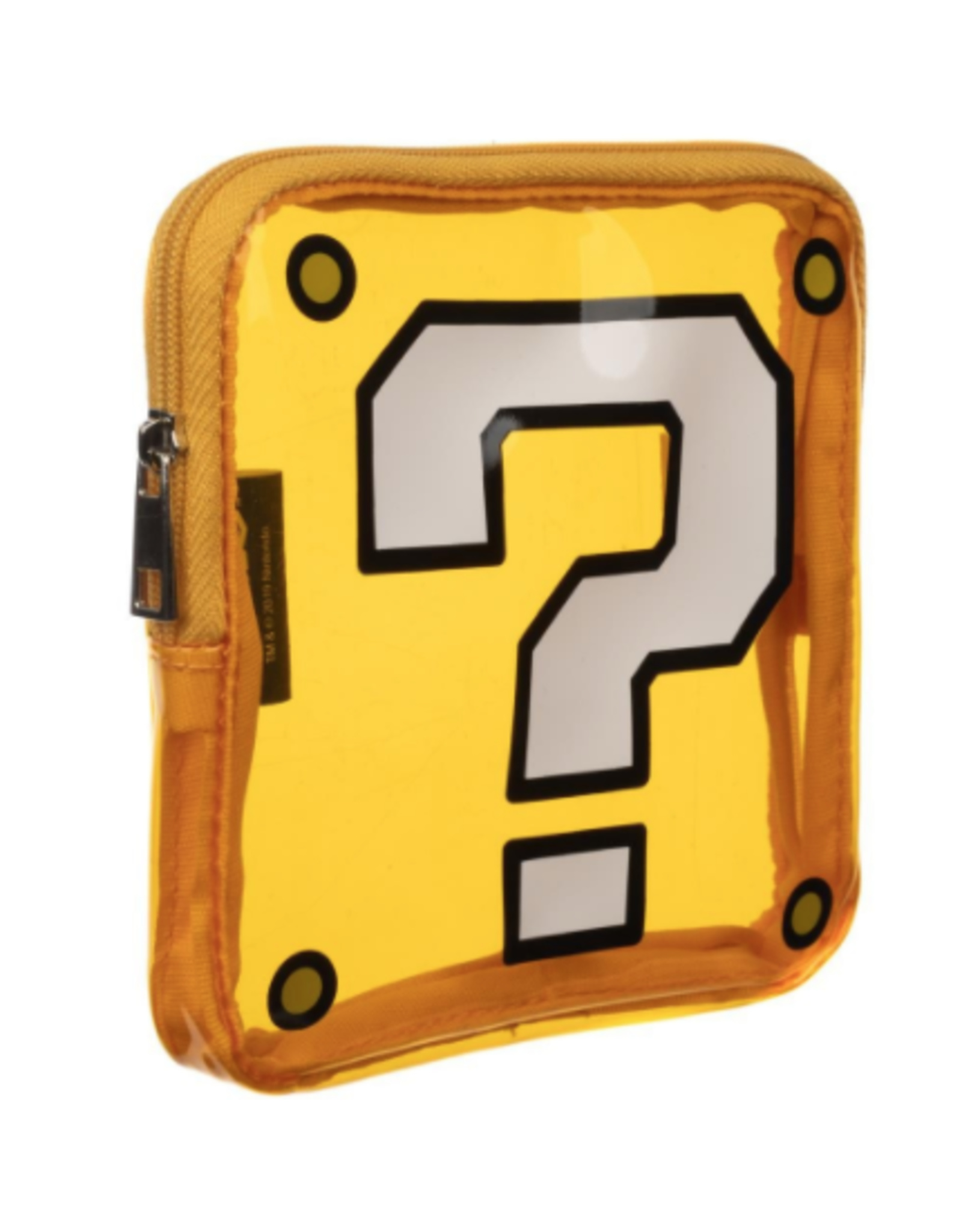 Bioworld Mario Question Box Coin Purse/Dice Pouch