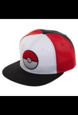 Bioworld Pokemon Pokeball Tri-Color Snapback
