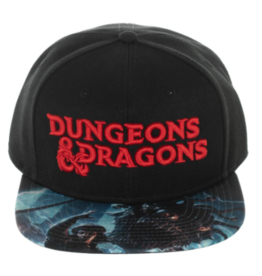 Bioworld Dungeons & Dragons Red Logo Snapback