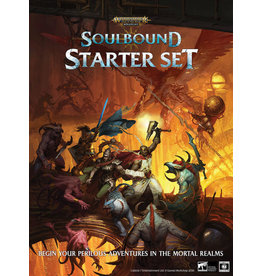 Cubicle 7 Warhammer Age of Sigmar - Soulbound RPG: Starter Set
