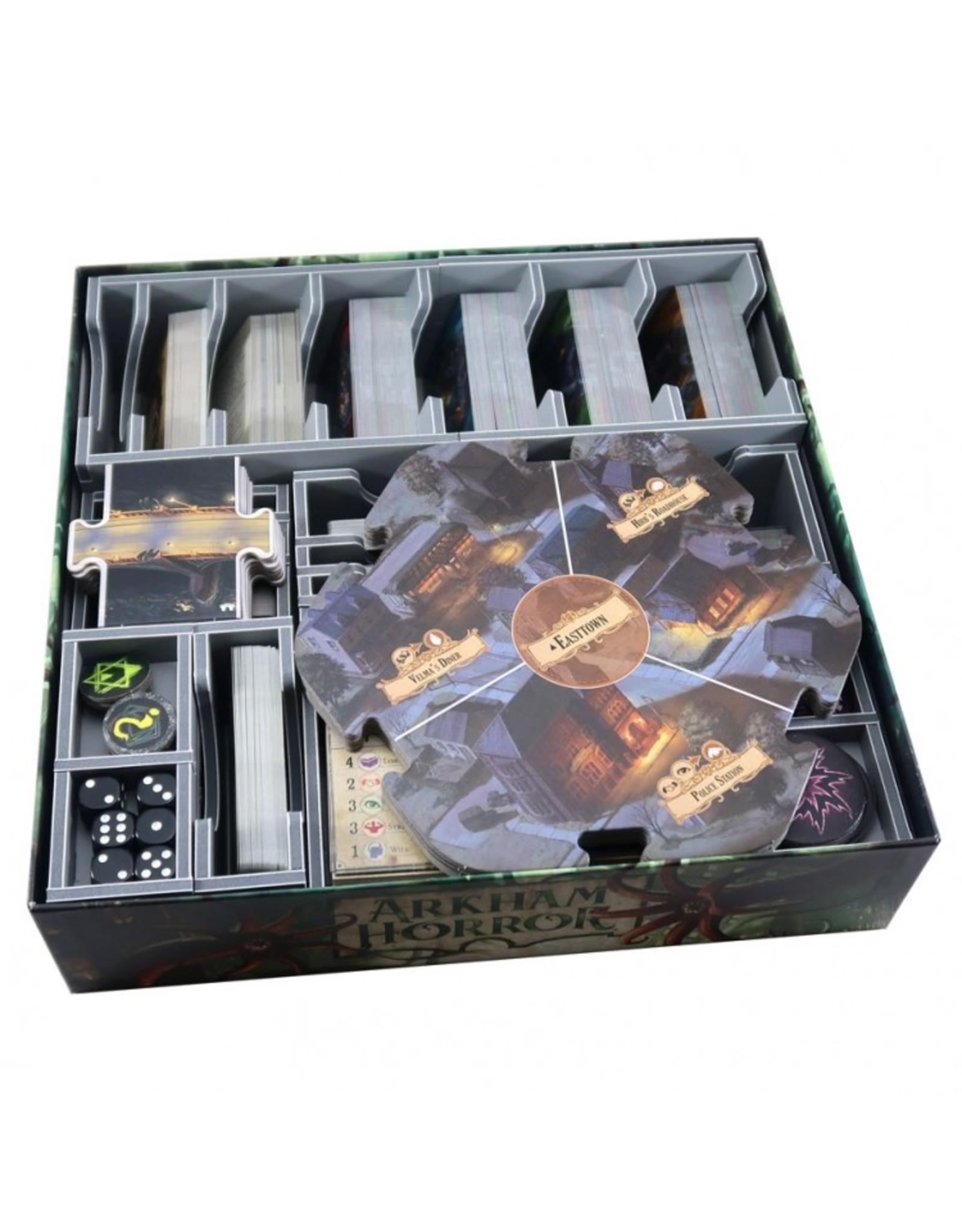 Folded Space Box Insert: Arkham Horror 3E & Exp