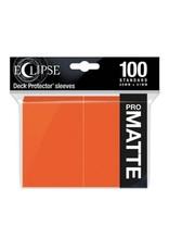 Ultra Pro DP: Eclipse: Matte Pumpkin OR (100)