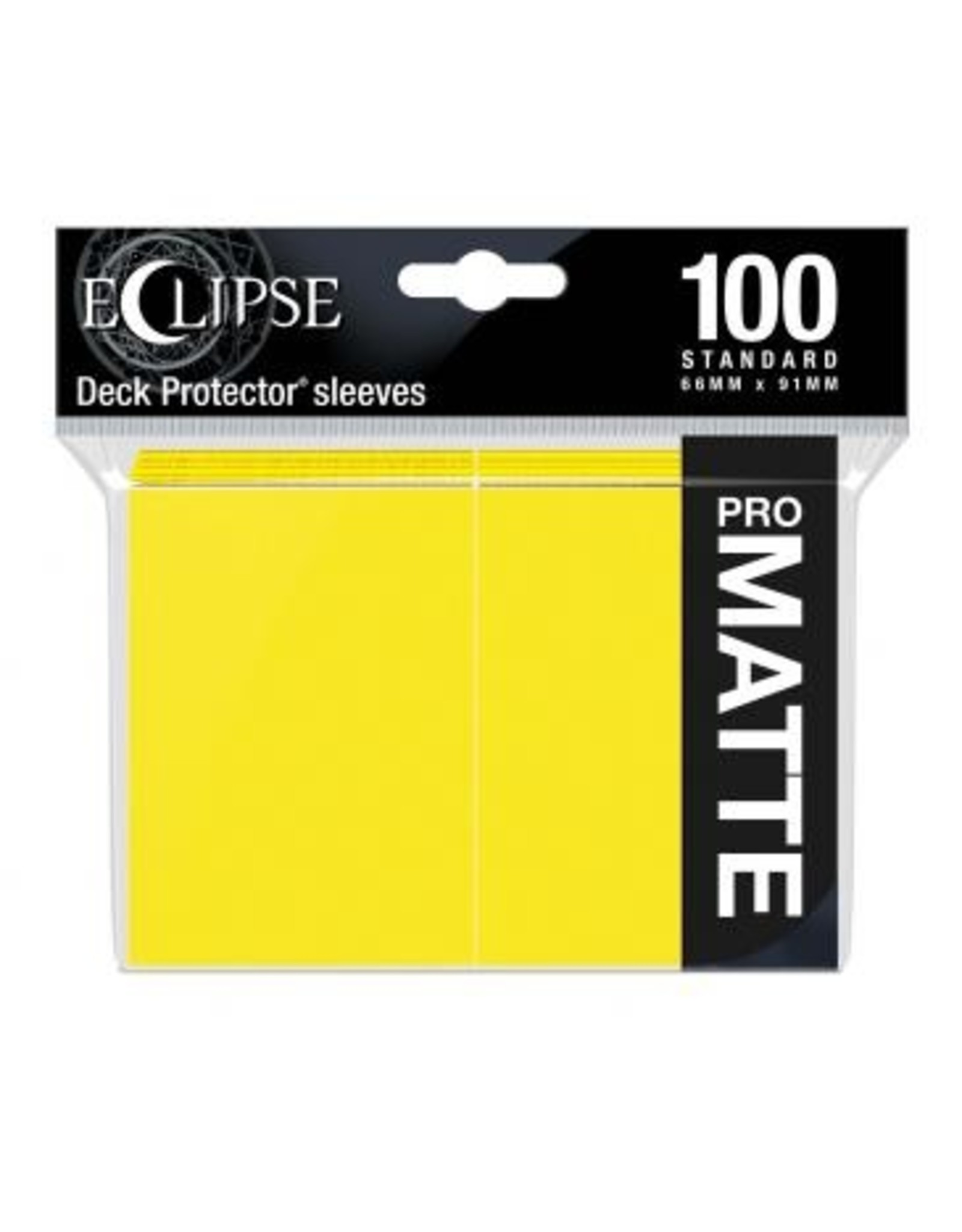 Ultra Pro DP: Eclipse: Matte Lemon YE (100)