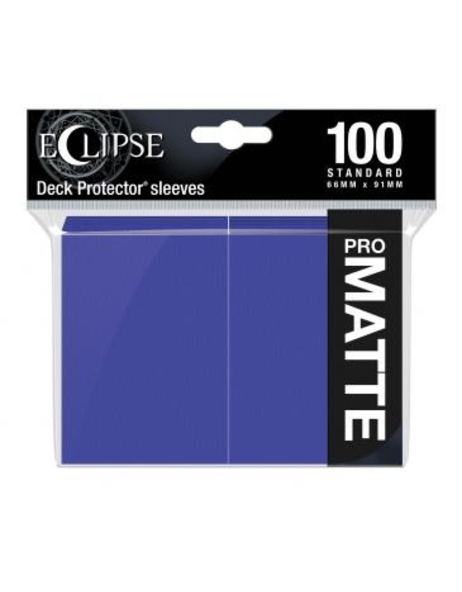 Ultra Pro DP: Eclipse: Matte Royal PU (100)