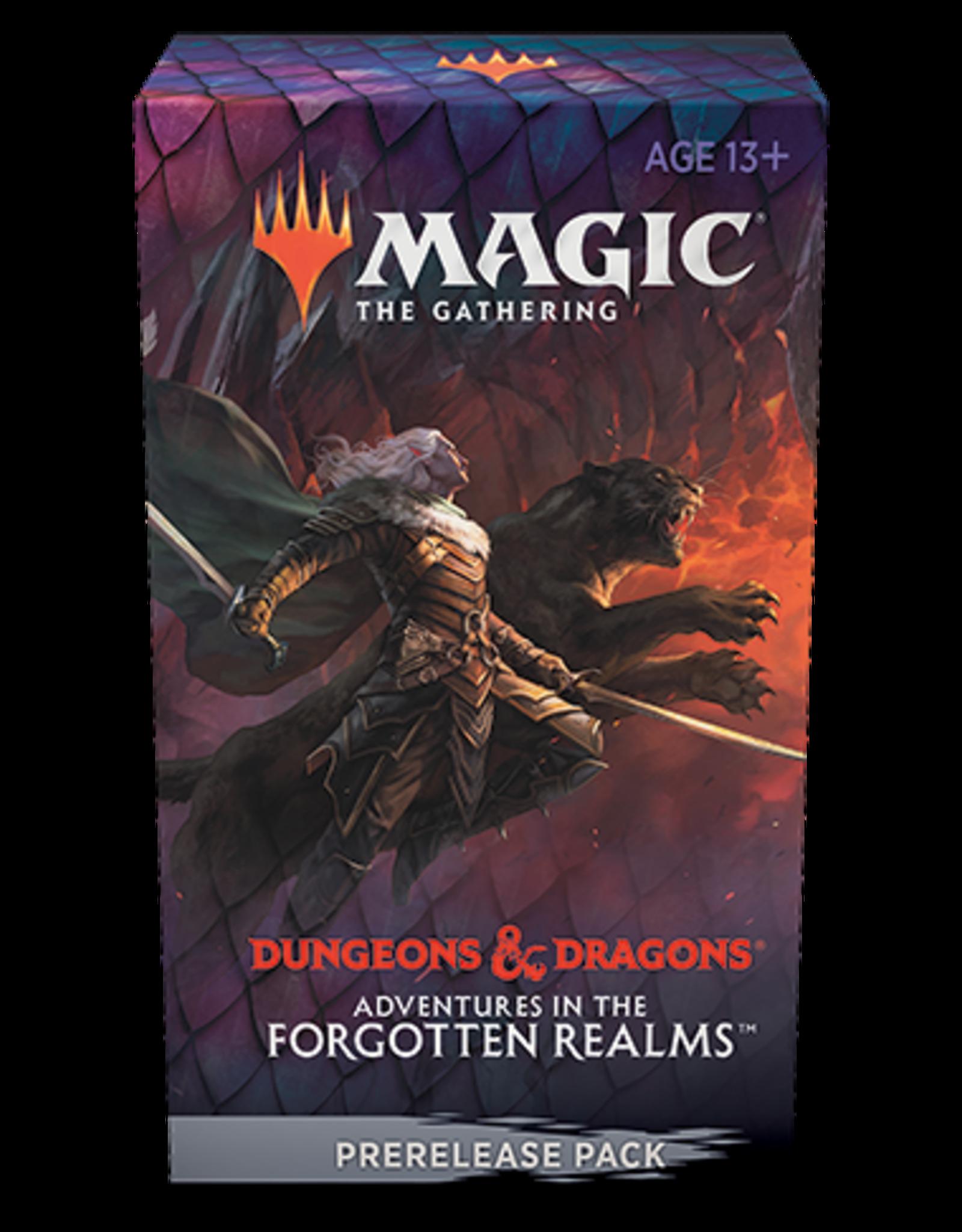 Magic Magic: Adv in the Forgotten Realms Pre Release Pack (Take Home)