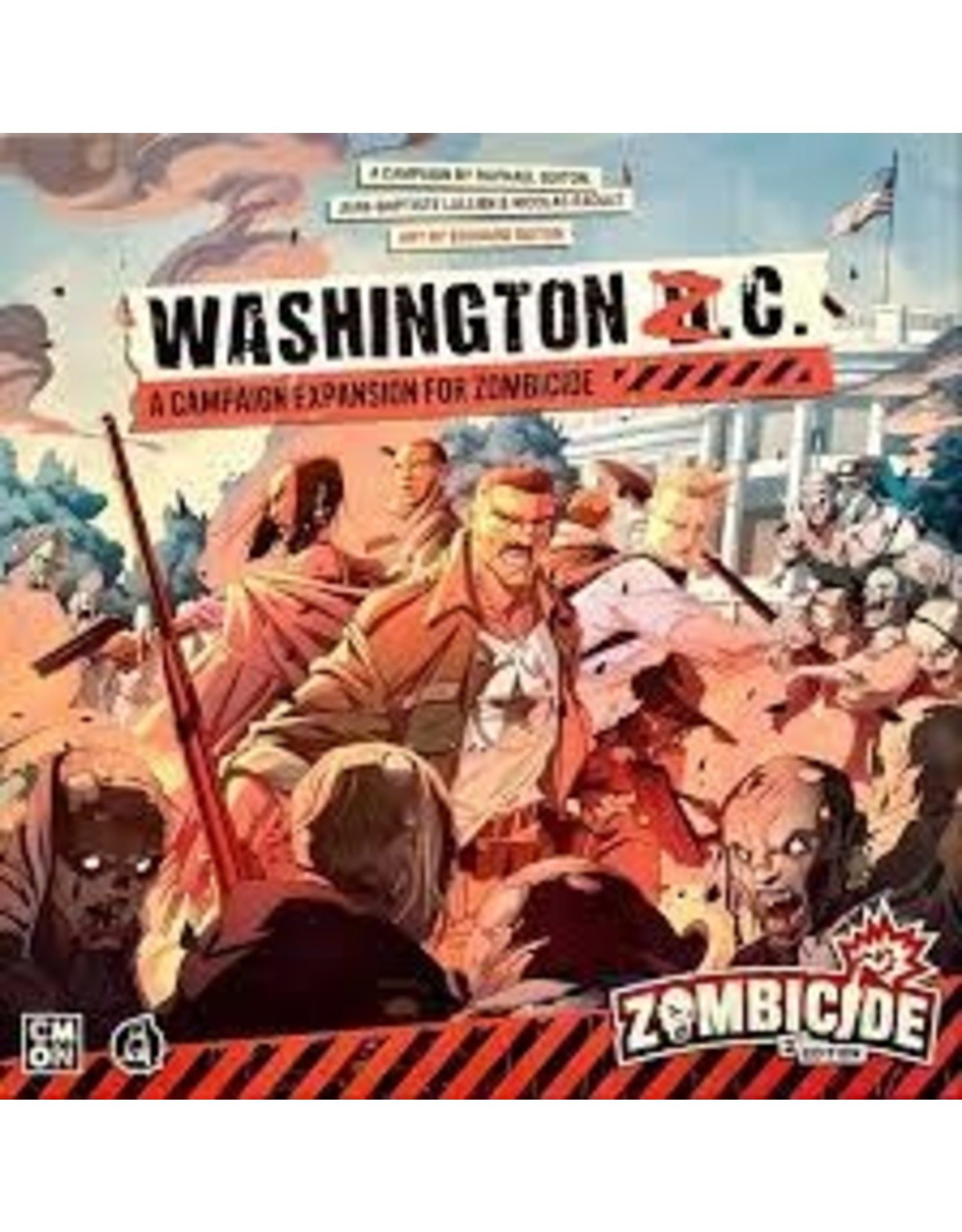 Cool Mini or Not Zombicide: Washington Z.C.
