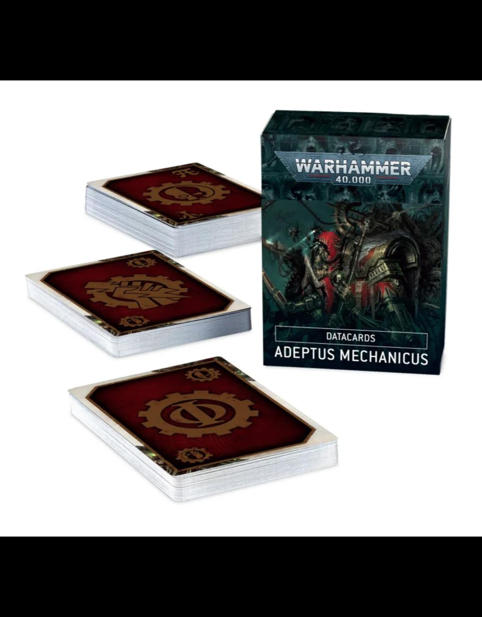 Warhammer 40K Datacards: Adeptus Mechanicus