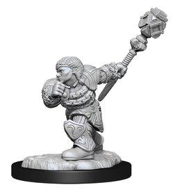 Wiz Kids Magic Miniatures: W14 Dwarf Fighter & Dwarf Cleric