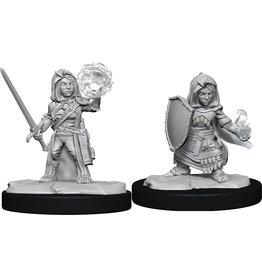 Wiz Kids Pathfinder Miniatures: W14 Halfling Cleric Female