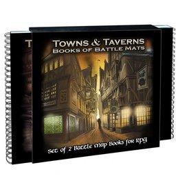 Loke Battlemats Towns & Taverns Books of Battle Mats