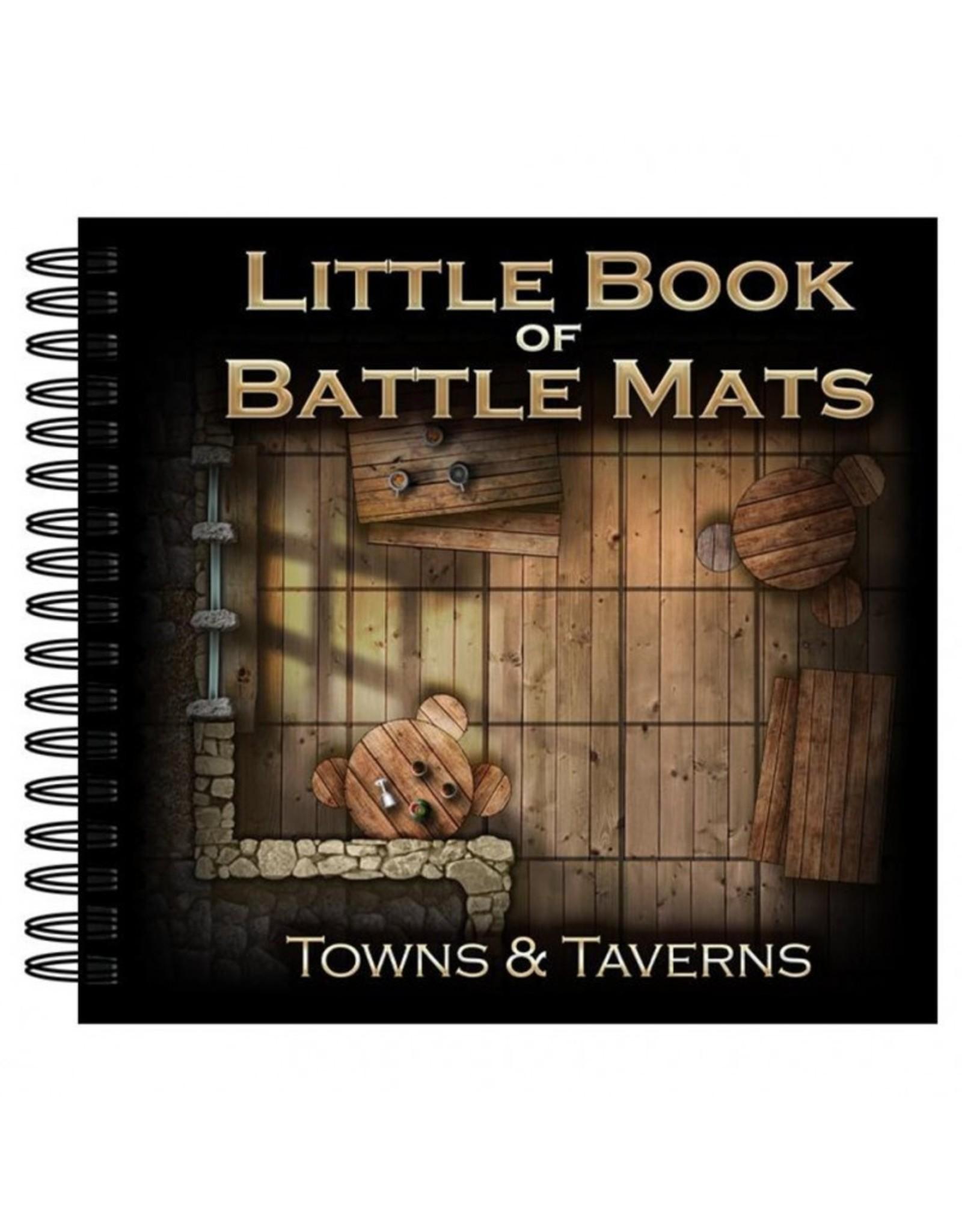 Loke Battlemats Little Book of Battle Mats: Towns & Taverns