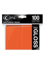 Ultra Pro DP: Eclipse Gloss: Pumpkin OR (100)