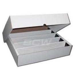 BCD Cardboard Box - 5000 Count - Full Lid