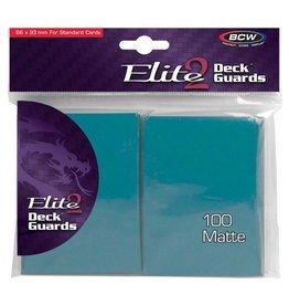 BCW DP: Deck Guard: Elite2: Azure (100)