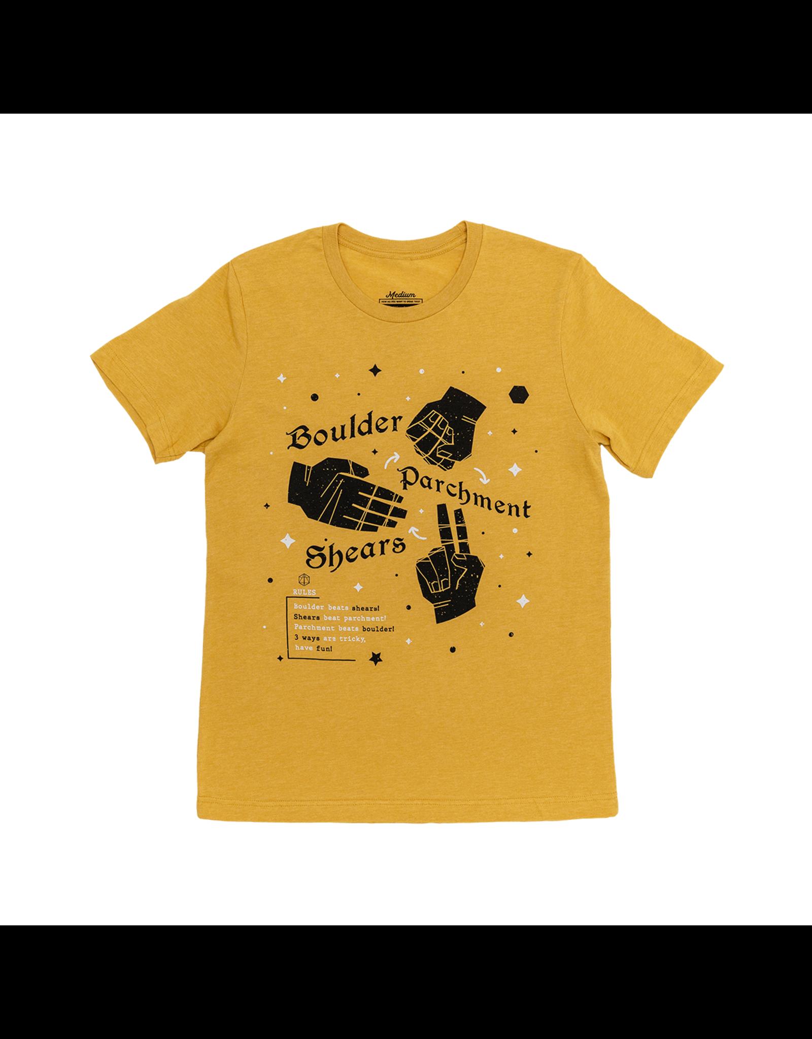 Boulder Parchment Shears T-Shirt (Medium)