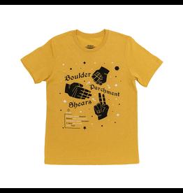 Critical Role Boulder Parchment Shears T-Shirt (XL)