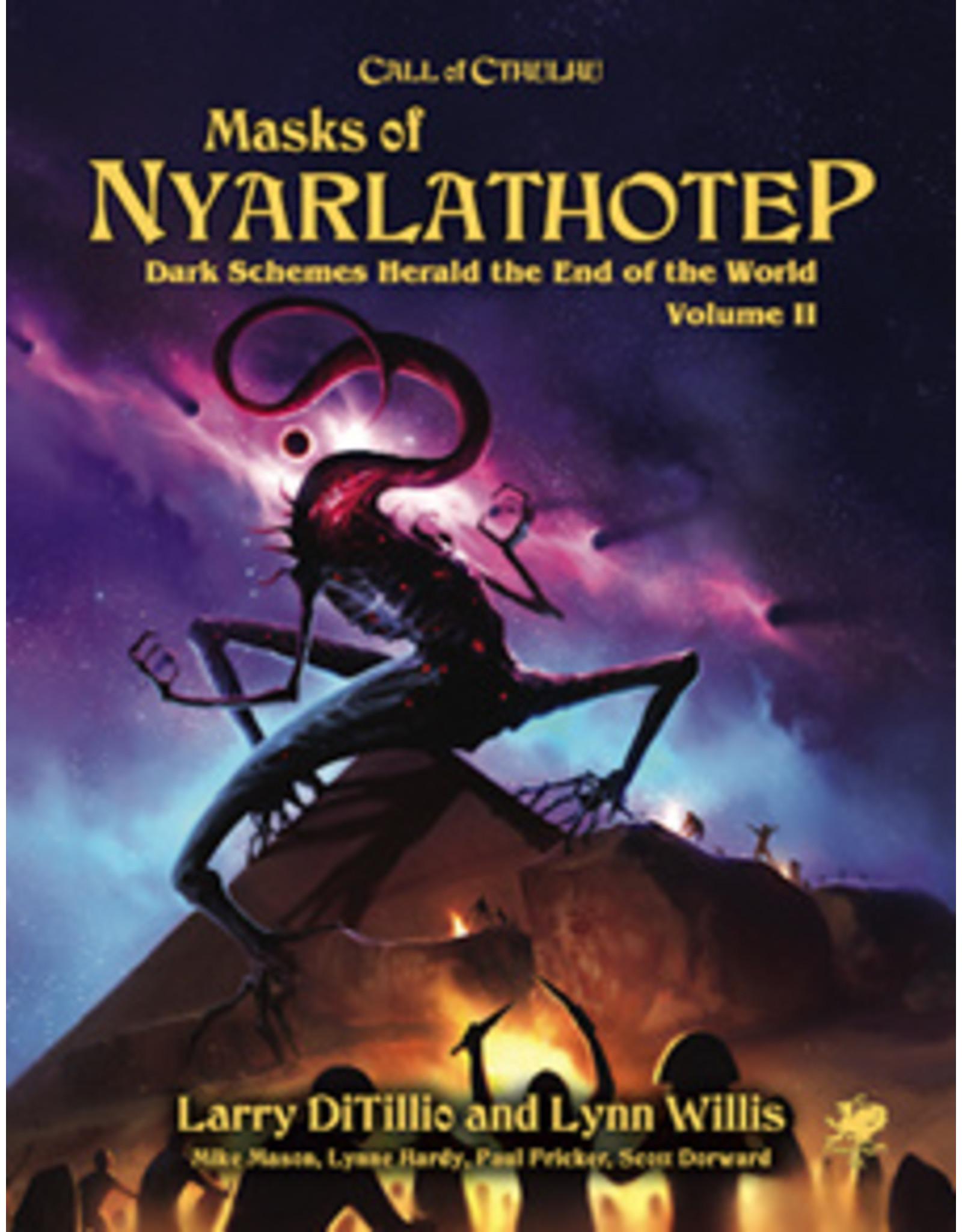 Chaosium CoC: Masks of Nyarlathotep Slipcase Set