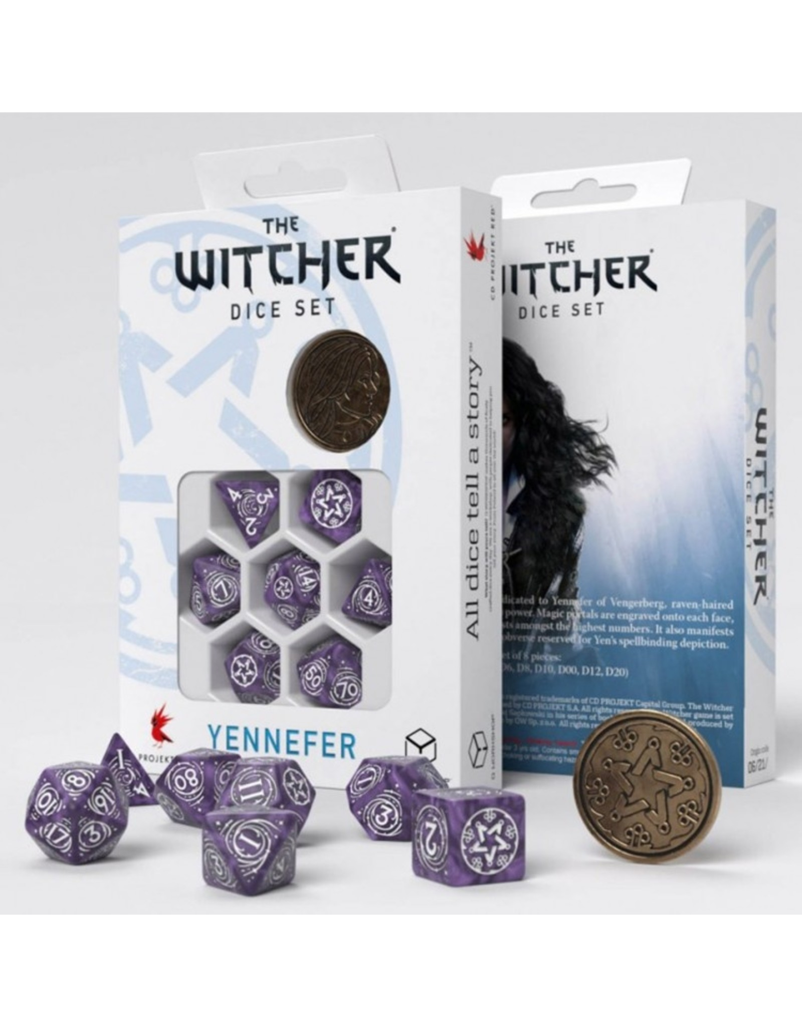 Q-Workshop 7-Set: Witcher: Lilac and Gooseberries