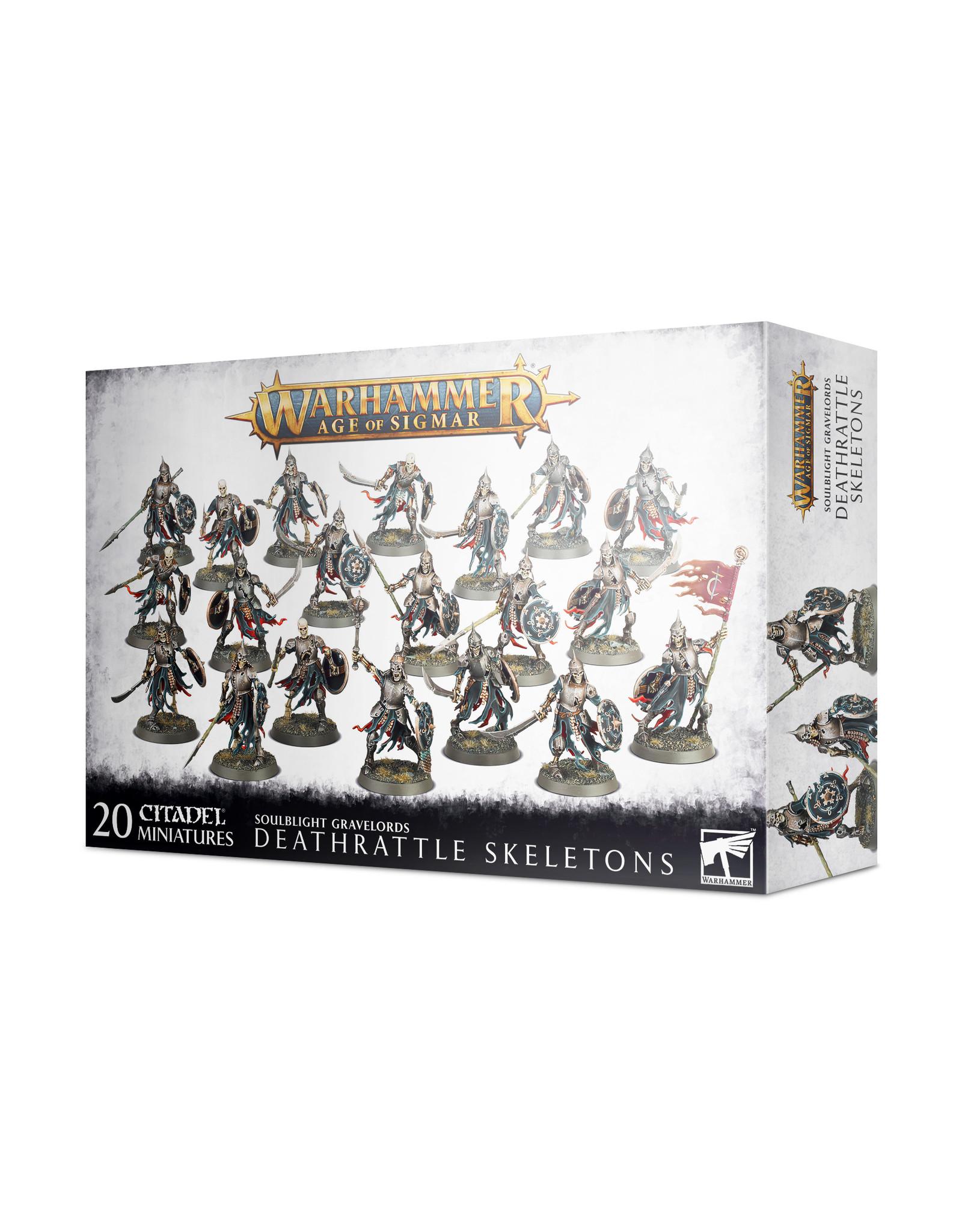 Age of Sigmar Soulblight Gravelords: Deathrattle Skeletons