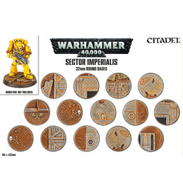 Citadel Sector Imperialis: 32mm Round Bases