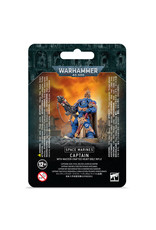 Warhammer 40K Space Marine Captain With Master-Crafted Bolt Rifle