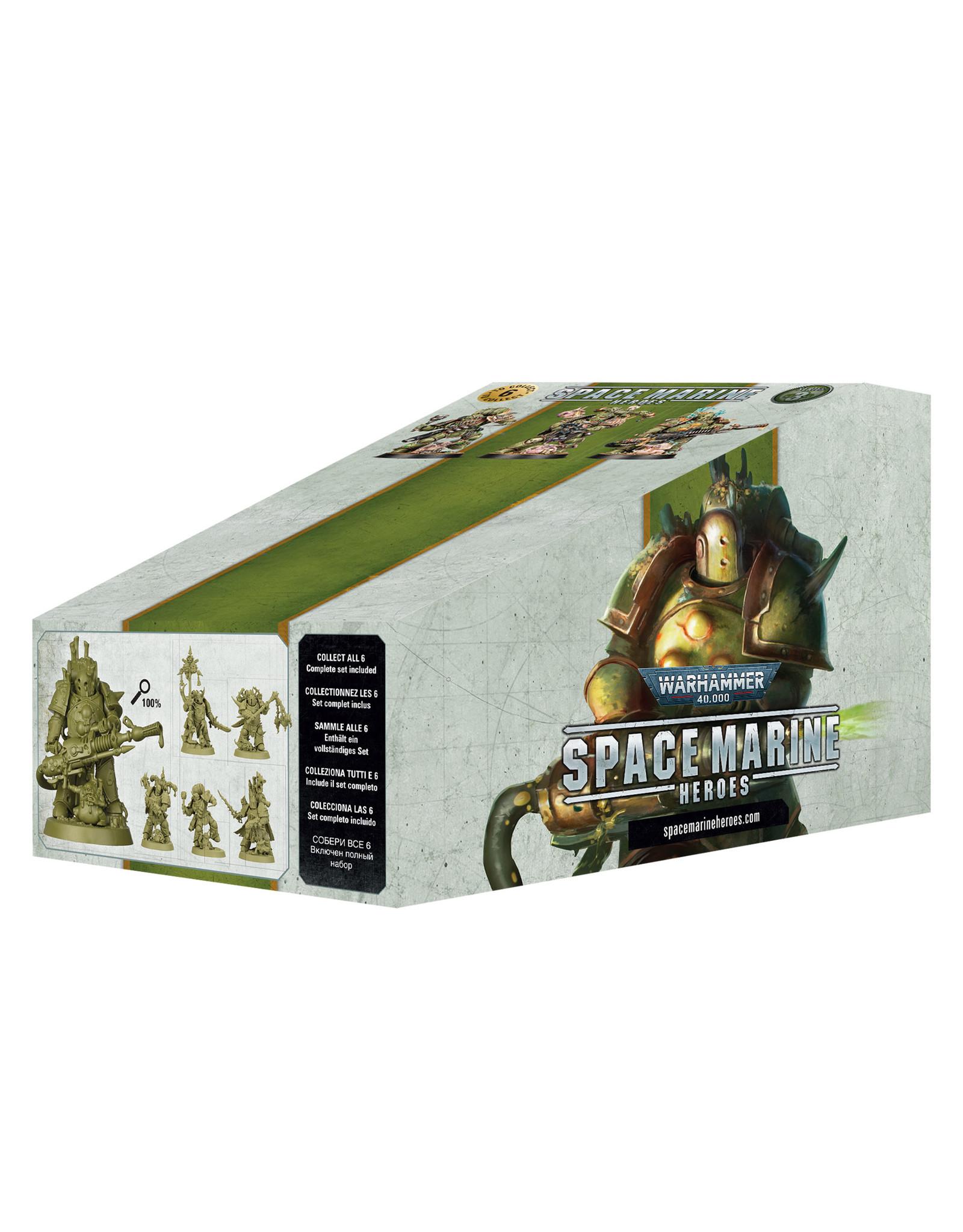 Warhammer 40K Space Marine Heroes 3 Booster