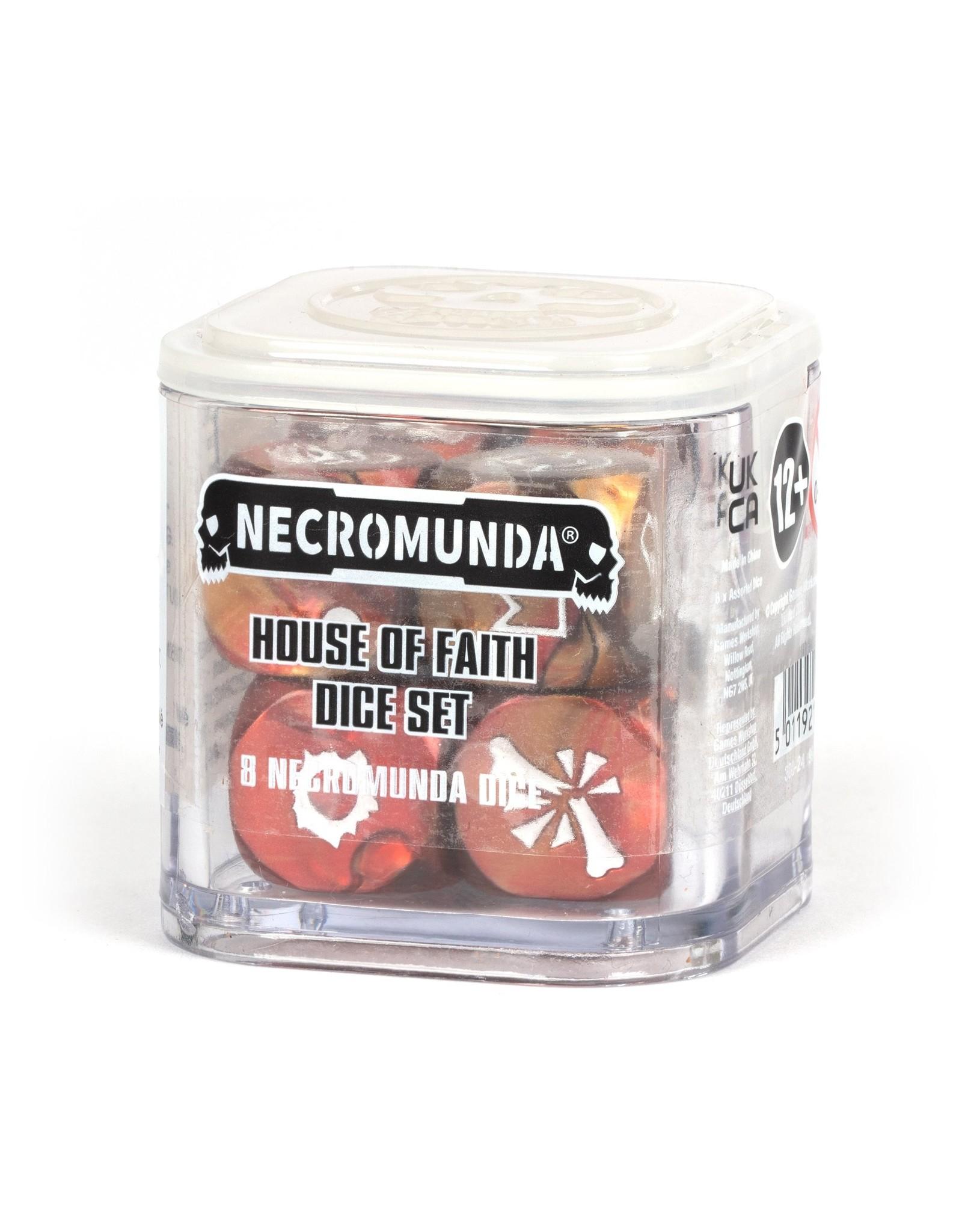 Necromunda Necromunda: House Of Faith Dice Set