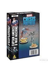 Atomic Mass Games Marvel Crisis Protocol: Captain America & War Machine Character Pack (Pre Order)