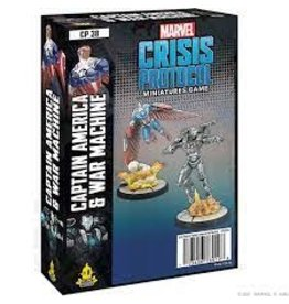 Atomic Mass Games Marvel Crisis Protocol: Captain America & War Machine Character Pack