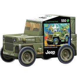 Eurographics Military Jeep Tin (500)