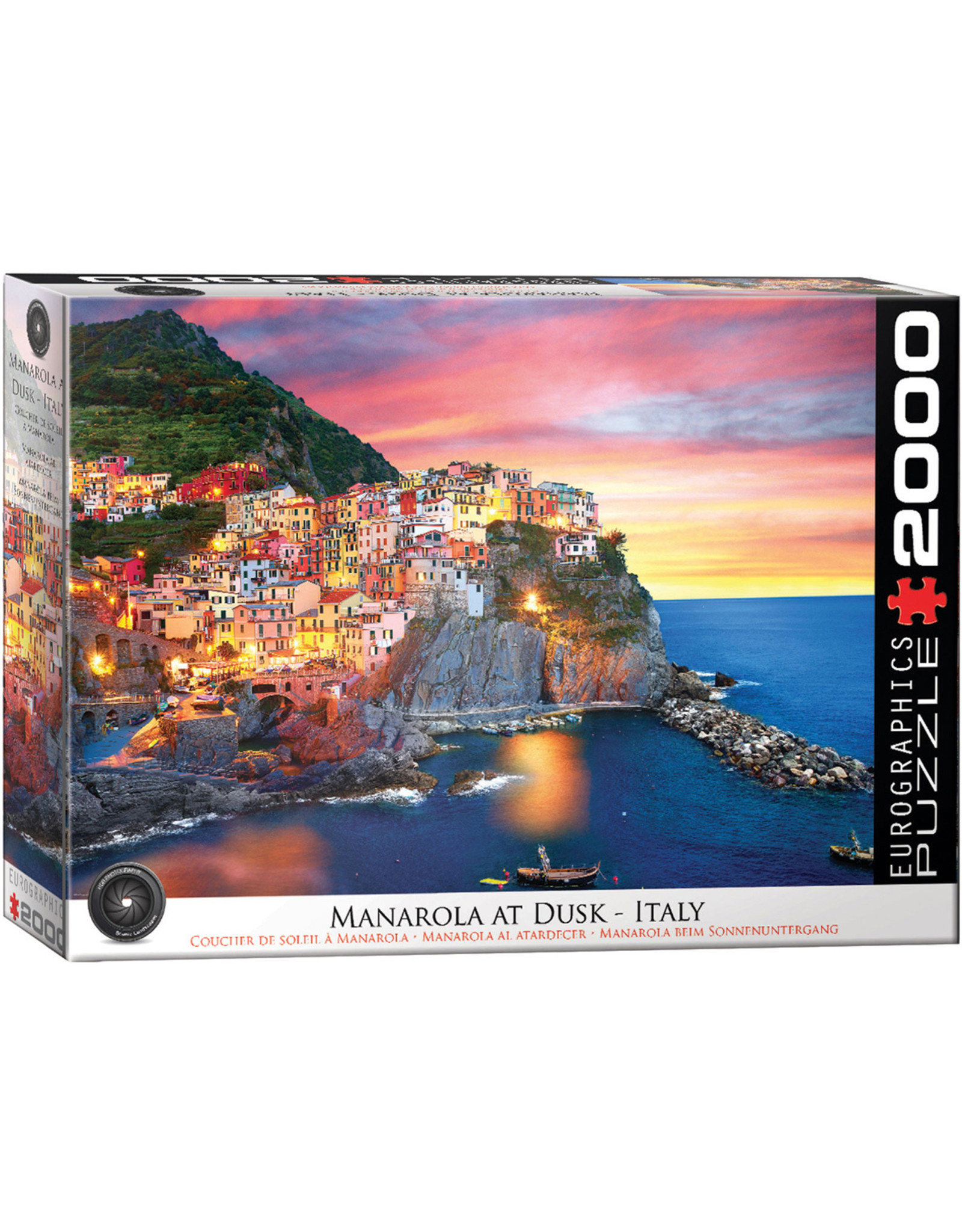 Eurographics Manarola at Dusk, Italy (2000)
