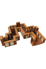 Wiz Kids WarLock Tiles: Expansion Pack - 1 in Town & Village Straight Walls