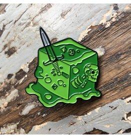 Creature Curation Gelatinous Cube - Pin