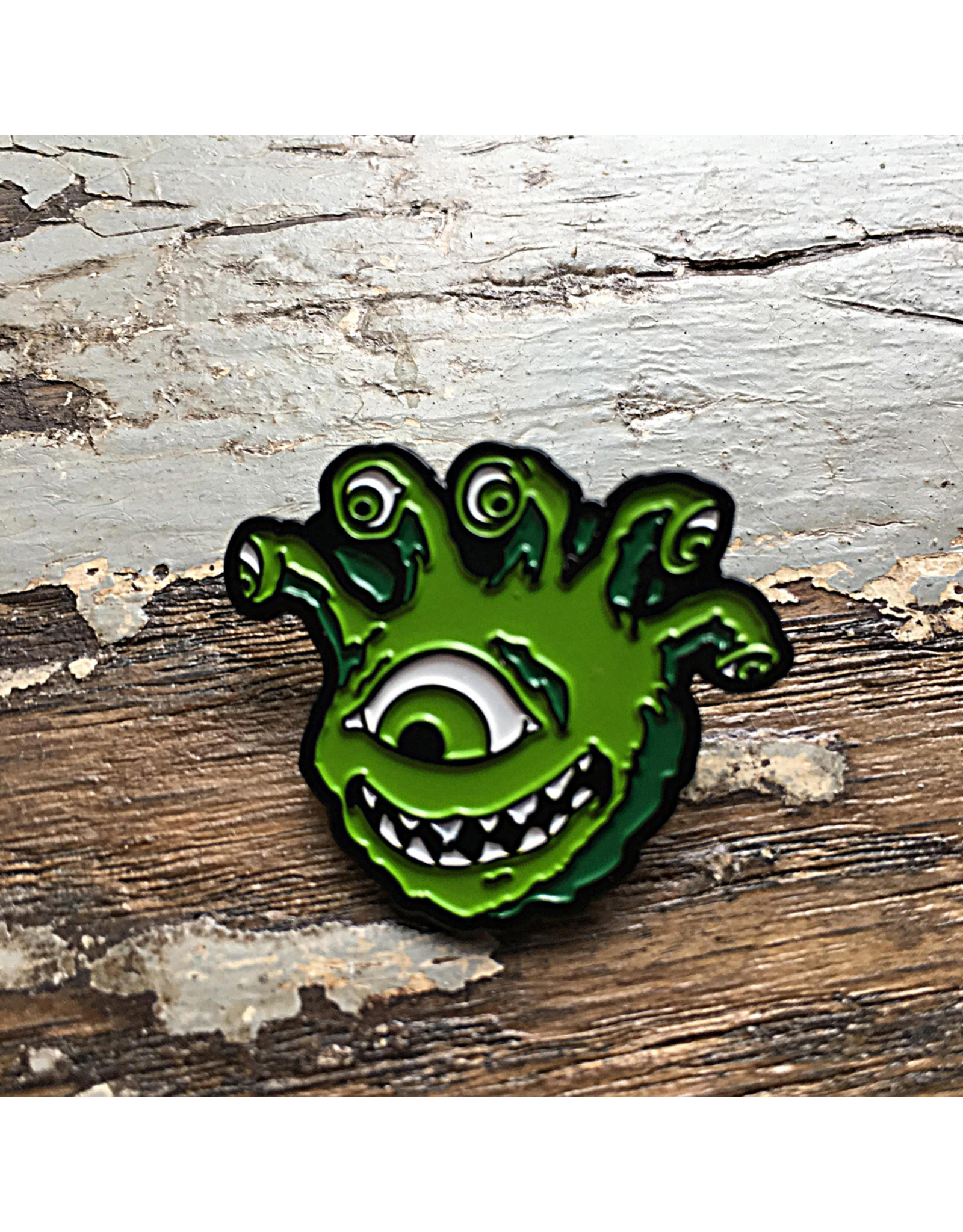 Creature Curation Eyegor Green – Pin