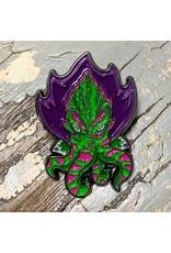 Creature Curation Space Squid – Watermelon Pin