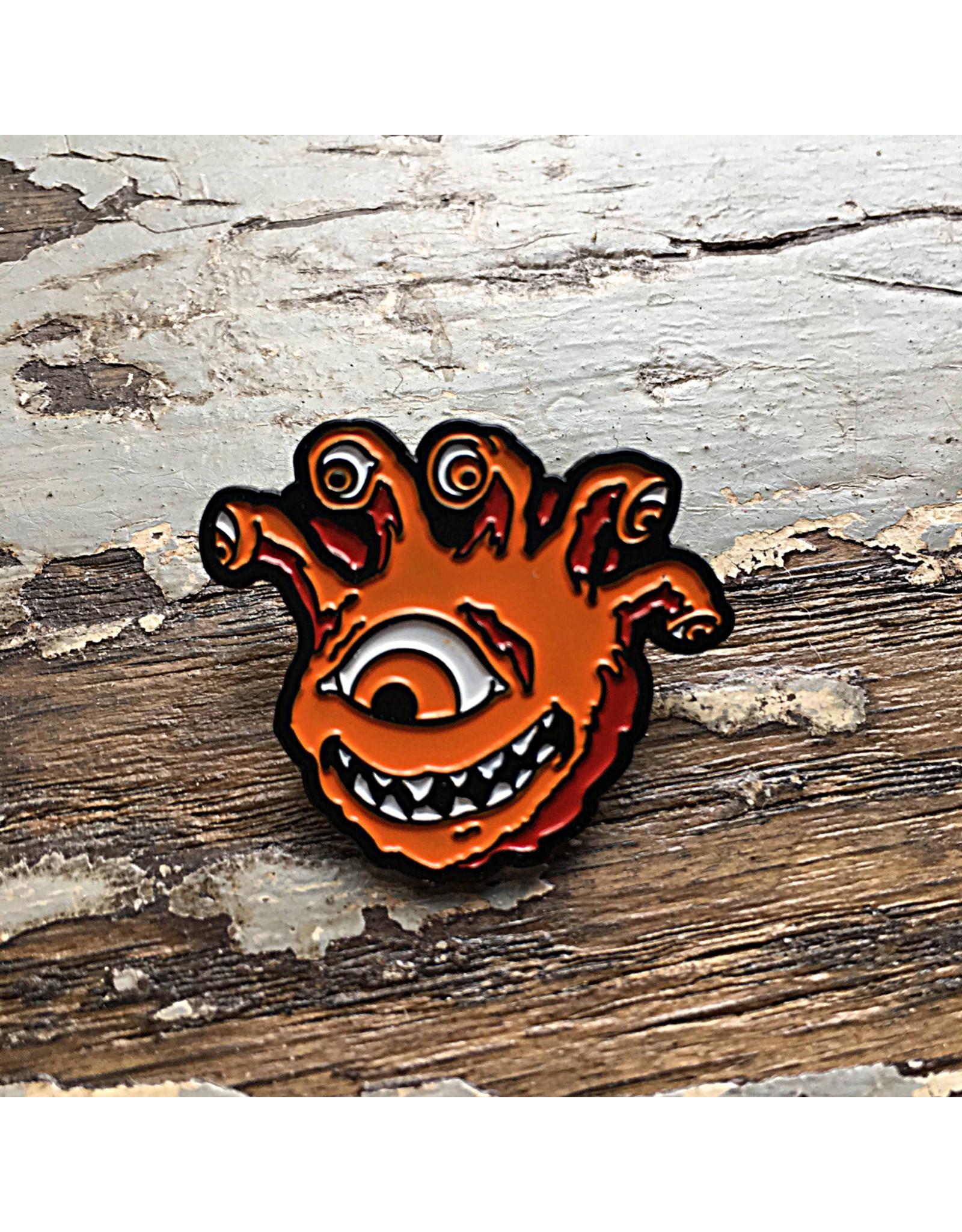 Creature Curation Eyegor Orange – Pin