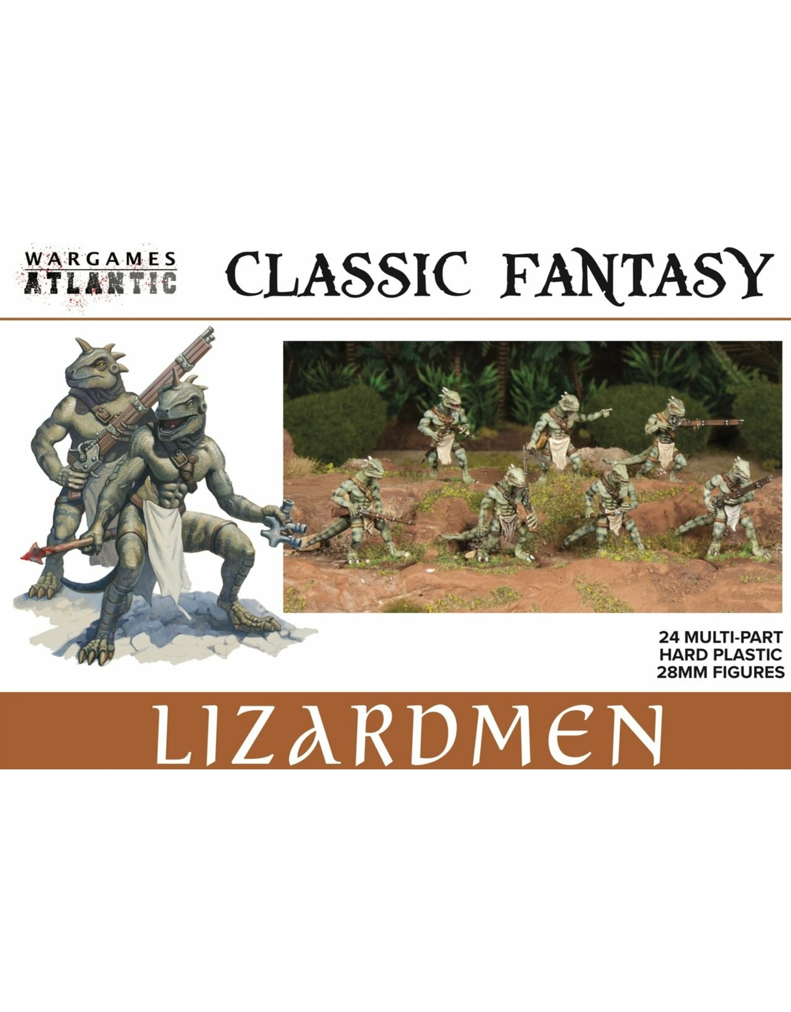Wargames Atlantic Classic Fantasy: Lizardmen