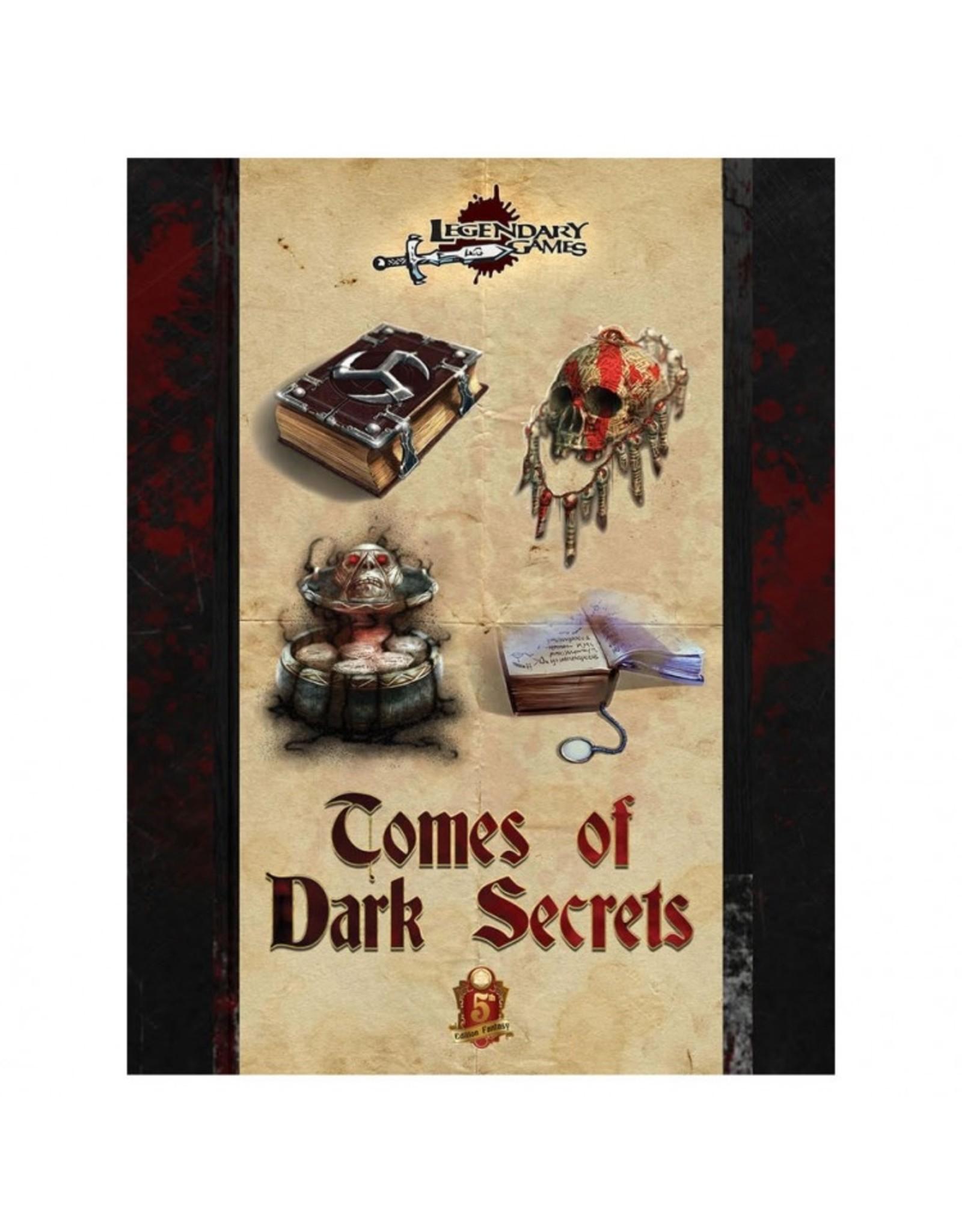 D&D 5E: Tomes of Dark Secrets