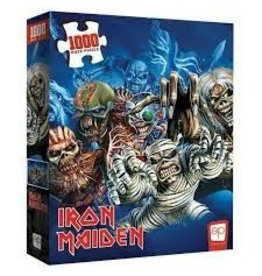 The OP Puzzle: Iron Maiden Faces of Eddie 1000pc
