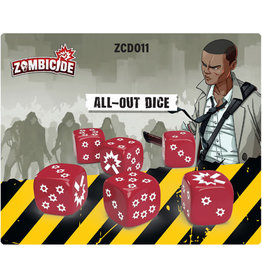 Zombicide: All Out Dice Pack