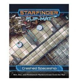 Paizo Publishing SFRPG: Flip-Mat: Crashed Starship