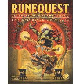 Chaosium RuneQuest RPG: The Red Book of Magic (Pre Order)