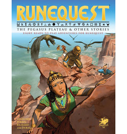 Chaosium RuneQuest RPG: The Pegasus Plateau & Other Stories