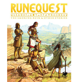 Chaosium RuneQuest RPG: The Smoking Ruin and Other Stories