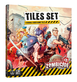 Cool Mini or Not Zombicide 2nd Edition: Tiles Set